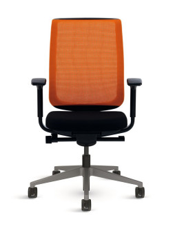BÜROSTUHL STEELCASE REPLY AIR ORANGE