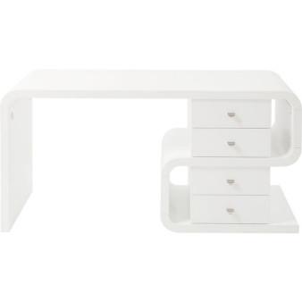 White Club Schreibtisch Snake 150x70cm
