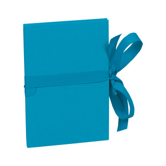 Leporello 12 x 17 Classico turquoise