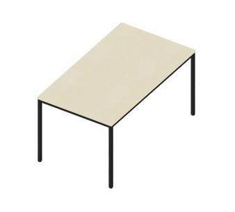 Tisch INTROTEC 4-Fuss Ahorn B: 1400