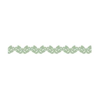 Klebband Washi Schmetterlinge grün