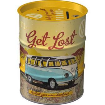 Sparkasse VW Bulli - Let´s Get Lost, 9.3x11.7, 600ml