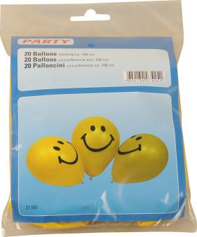 BALLONE SMILY 100cm/à20STK
