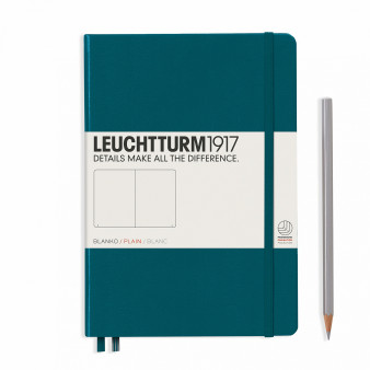 LEUCHTTURM MEDIUM BLANK.PAGREEN