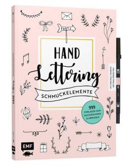 Buch Handlettering-Schmuckelemente