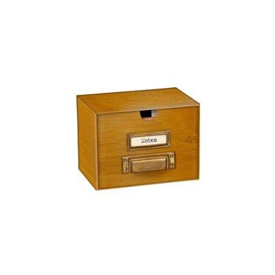Miniatur Karteikartenbox