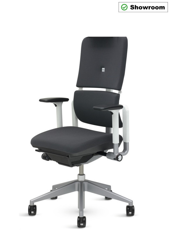 BÜROSTUHL STEELCASE NEW PLEASE STOFF AL