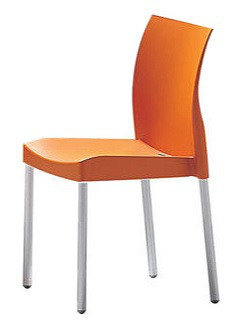 STUHL ICE ALU ORANGE
