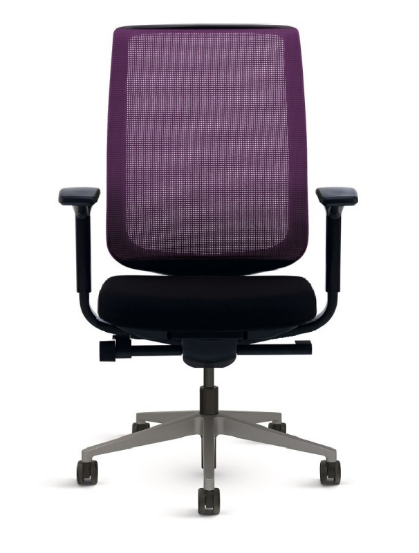 BÜROSTUHL STEELCASE REPLY AIR VIOLETT