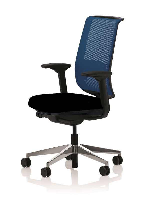 BÜROSTUHL STEELCASE REPLY AIR BLAU