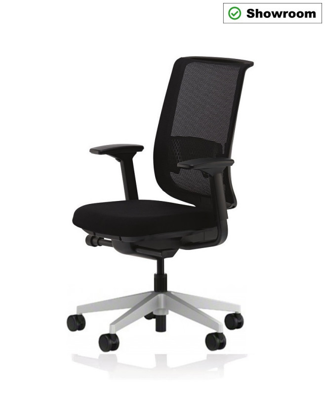 BÜROSTUHL STEELCASE REPLY AIR SCHWARZ