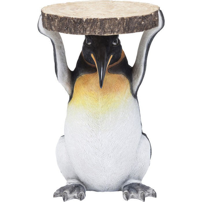 Beistelltisch Animal Mr Penguin Ø33cm