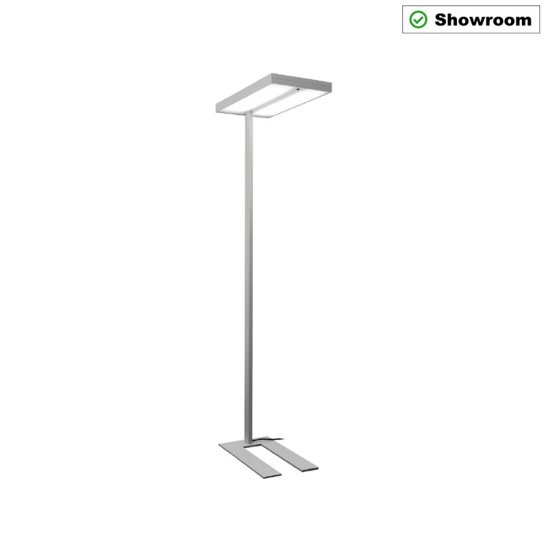 STEHLEUCHTE 13 LED ON/OFF SILBER