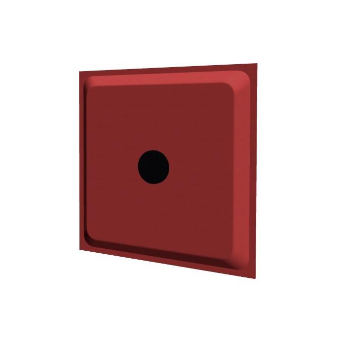 WAND-ABSORBER AOS 3D GEKLEBT