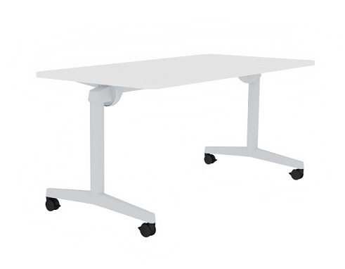 TISCH STEELCASE FLIP TOP TWIN