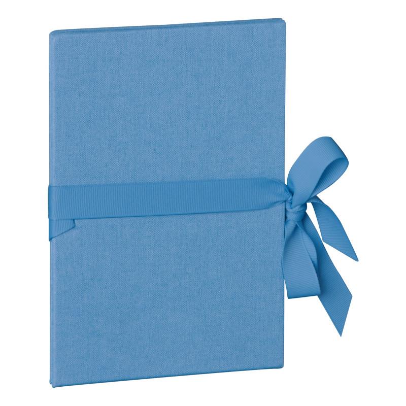 Leporello 12 x 17 Classico azzurro