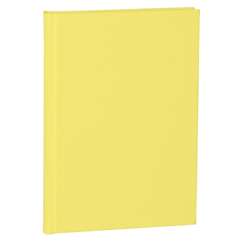 Notizbuch A5 dotted Classic lemon