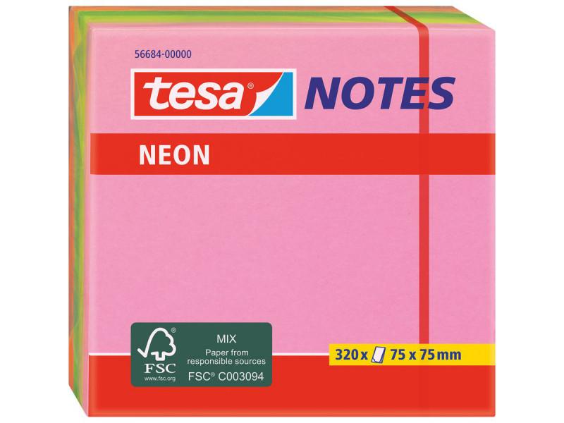 POST-IT TESA 75x75NEON/à320