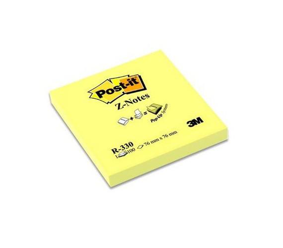 POST-IT Z-NOTE 76x76/à100B