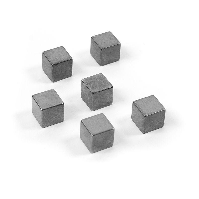 Superstrong Magnets CUBE MEDIUM 6er Set, graphit