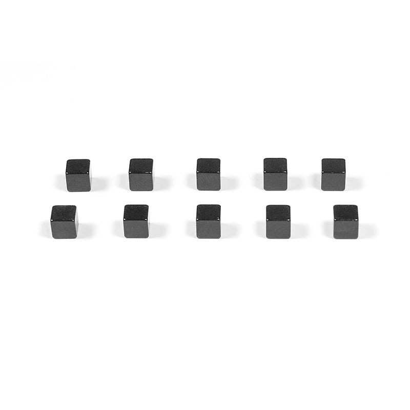 Magnete KUBIQ 10er Set schwarz