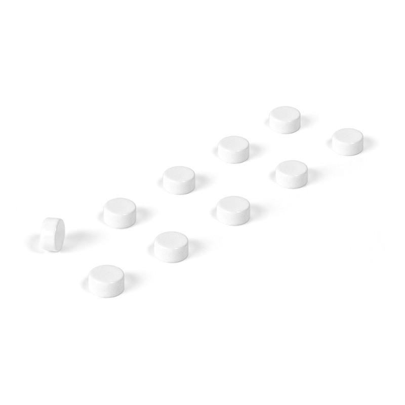 Magnete STEELY 10er Set weiss