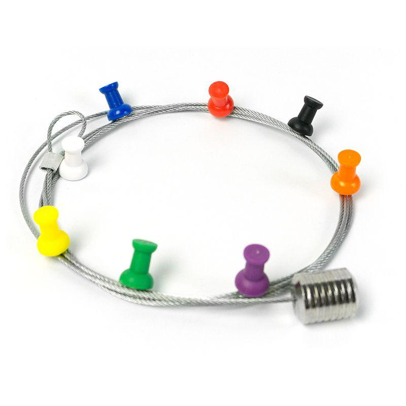 Fotoleine PINPIN 8 Magnete / 150 cm
