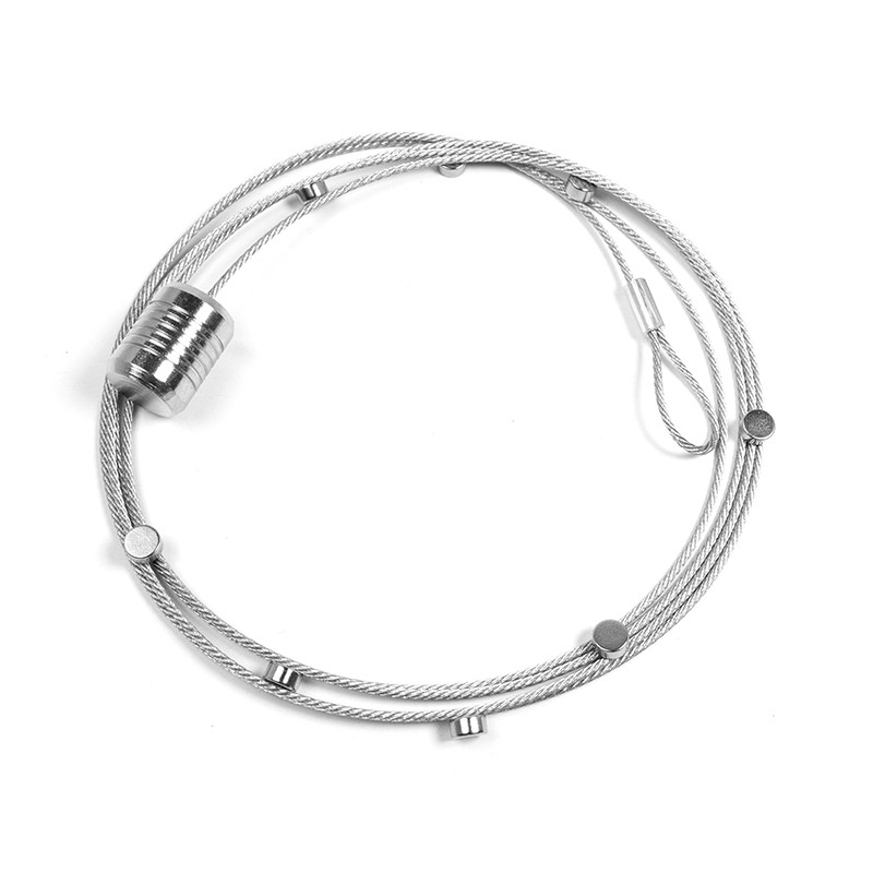 Fotoleine STEELY DAN 200 15 Magnete / 200 cm