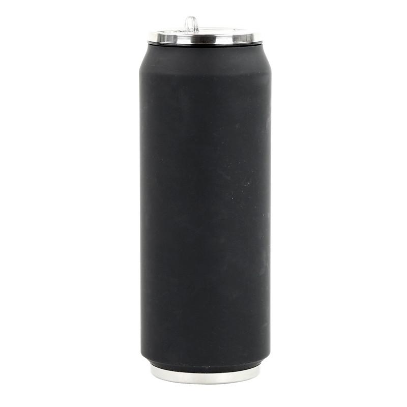 Trinkflasche CAN SOFT schwarz