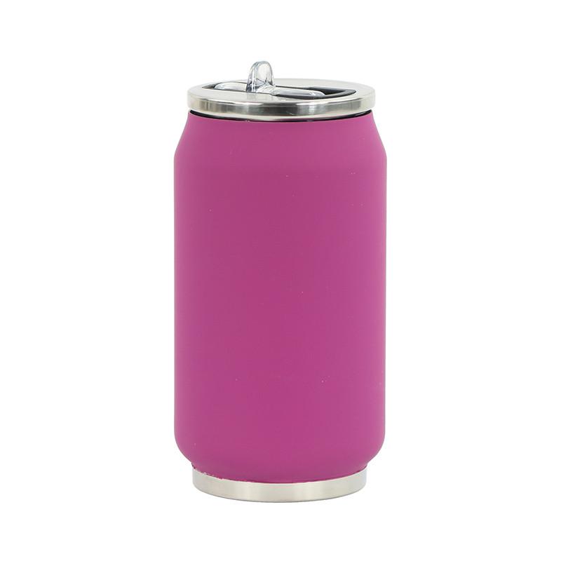 Trinkflasche CAN SOFT violett