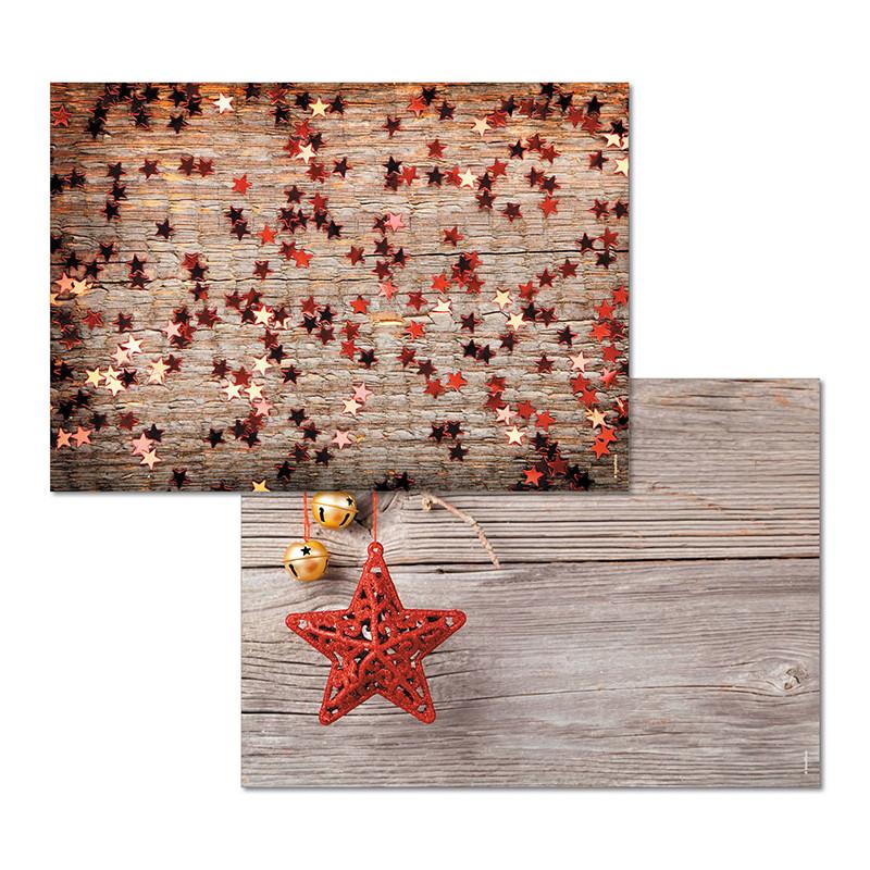 Papiertischset COLORFUL STARS