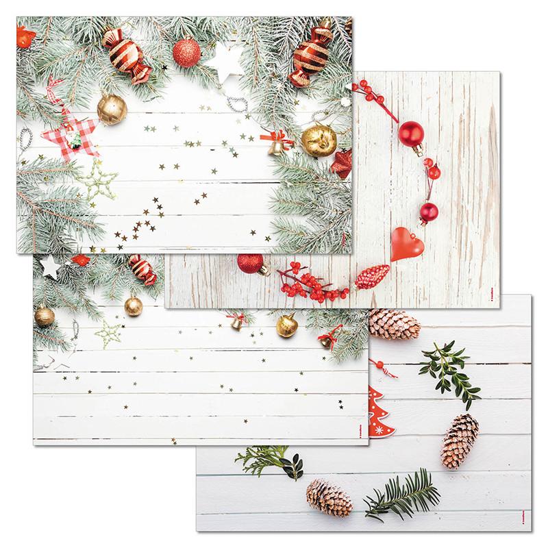 Papiertischset COZY CHRISTMAS