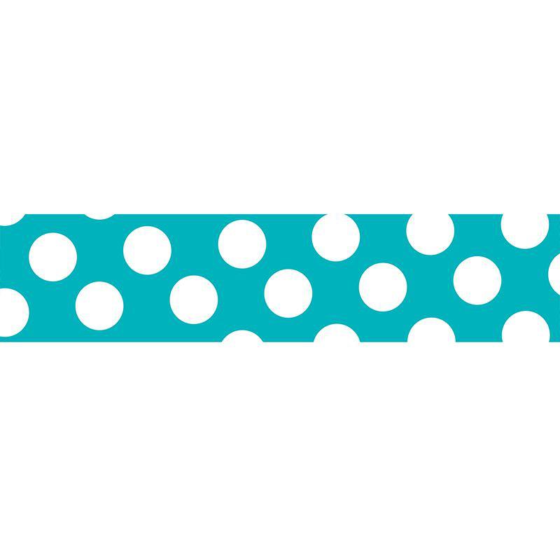 KLEBB.MASTÉ BASIC Turquoise/Dot 15mm