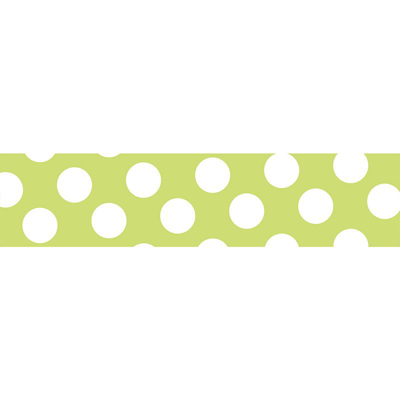 KLEBB.MASTÉ BASIC Neon Light Green/Dot, 15mm