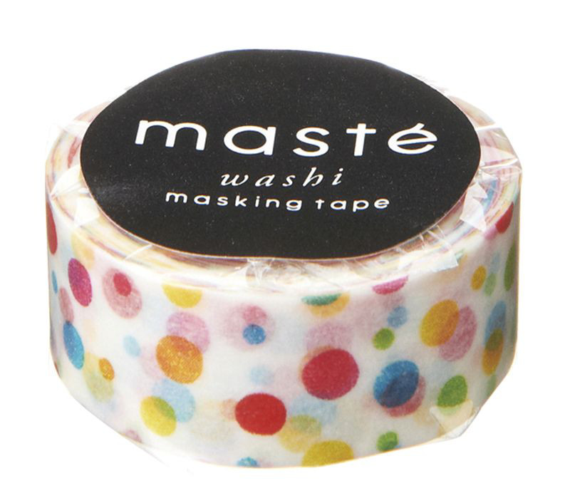 KLEBB.MASTÉ MULTI colorful dot 15mm