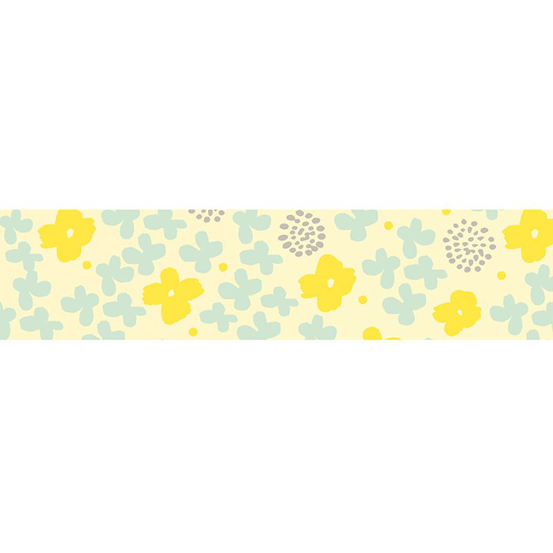 KLEBB.MASTÉ DRAW ME Flower Yellow 10m/15mm