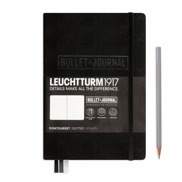 LEUCHTTURM Bullet Journal A5 dot. schwarz