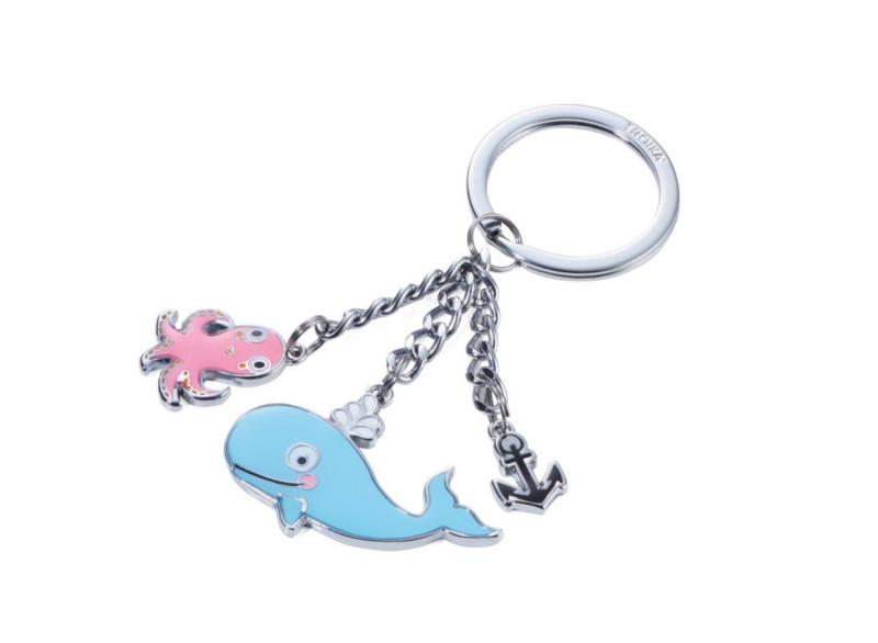 Schlüsselanh.Wal&Oktopus&Anker