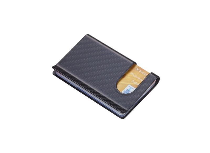 TROIKA CARBON Kreditkartenetui