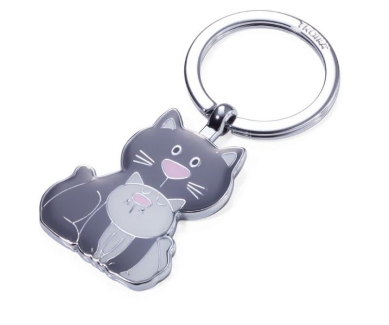 TROIKA Schlüsselanh. CAT & KITTY
