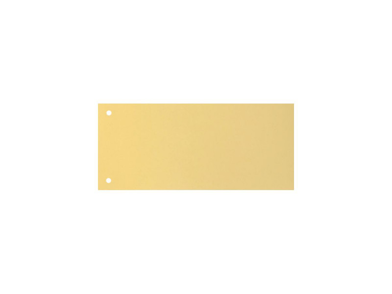 TRENNSTREIF.10x23.5 2-L.GELB/100