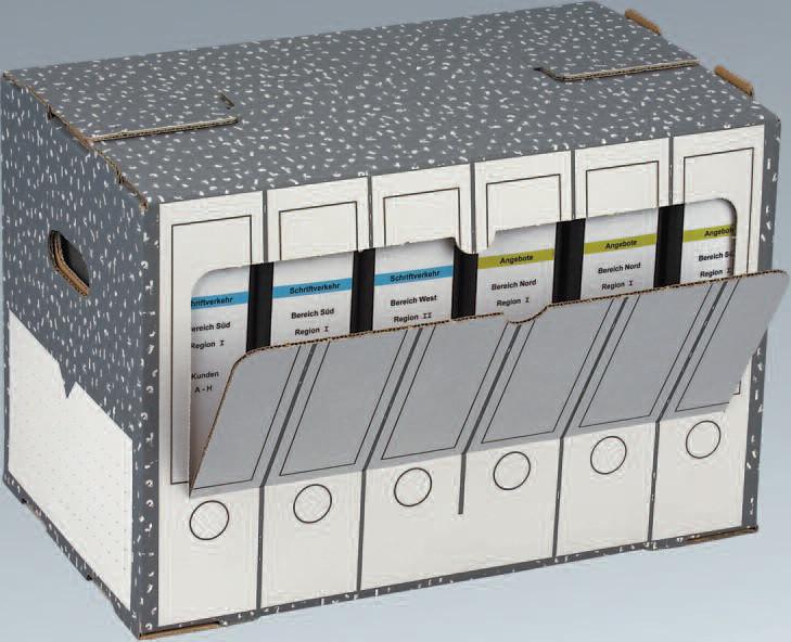 SCHACHTEL ORDNERARCHIVBOX NIPS