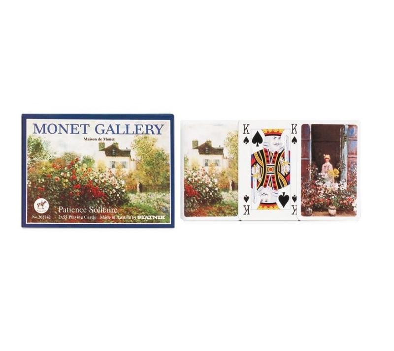 Kartenspiel Patience Monet