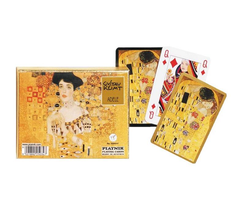 Kartenspiel Bridge Klimt Adele