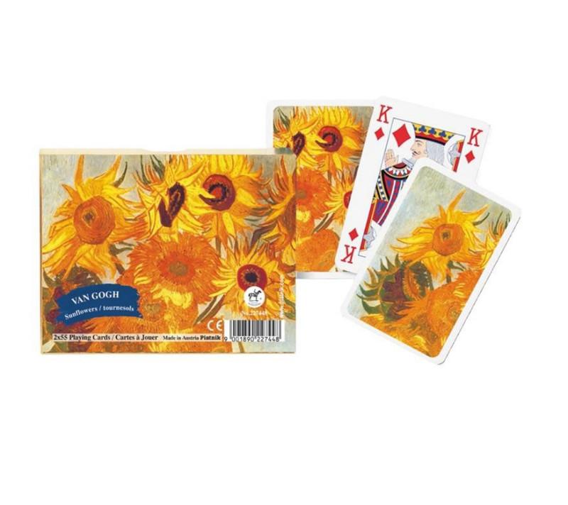 Kartenspiel Bridge V.Gogh Sun Flowers