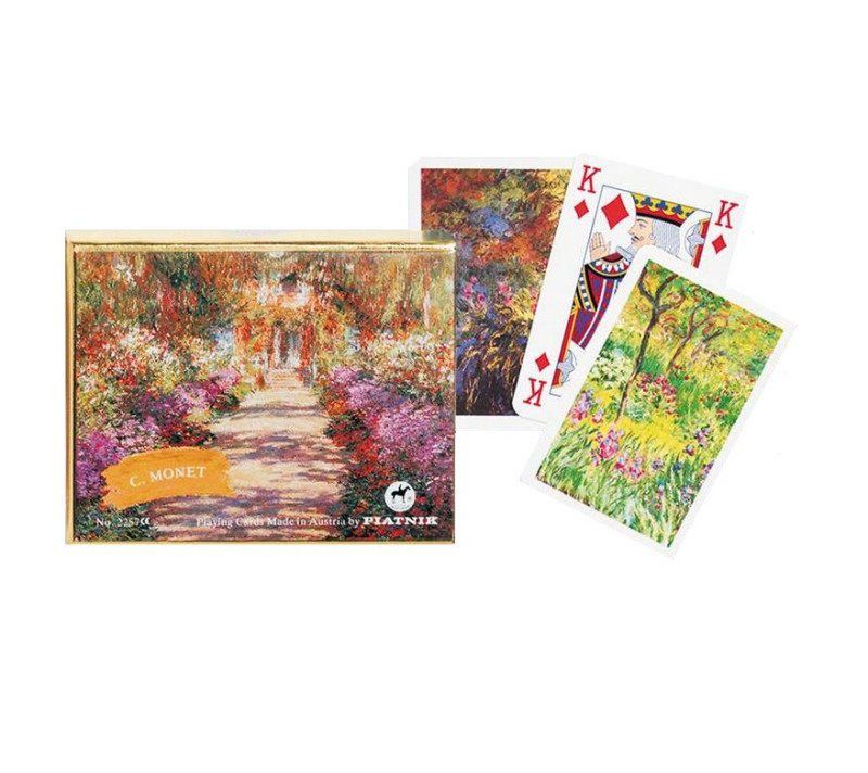 Kartenspiel Bridge Monet - Giverny