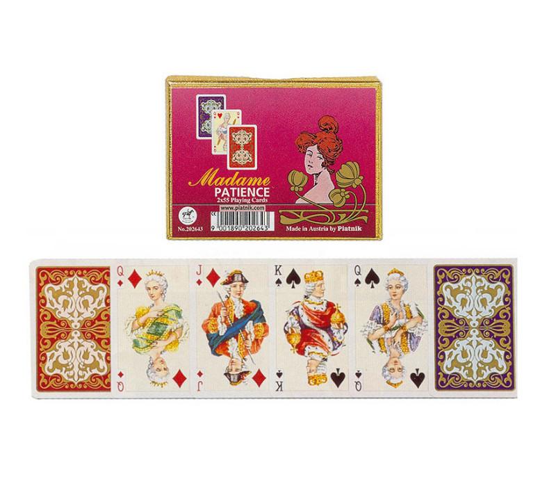 Kartenspiel Patience Madame