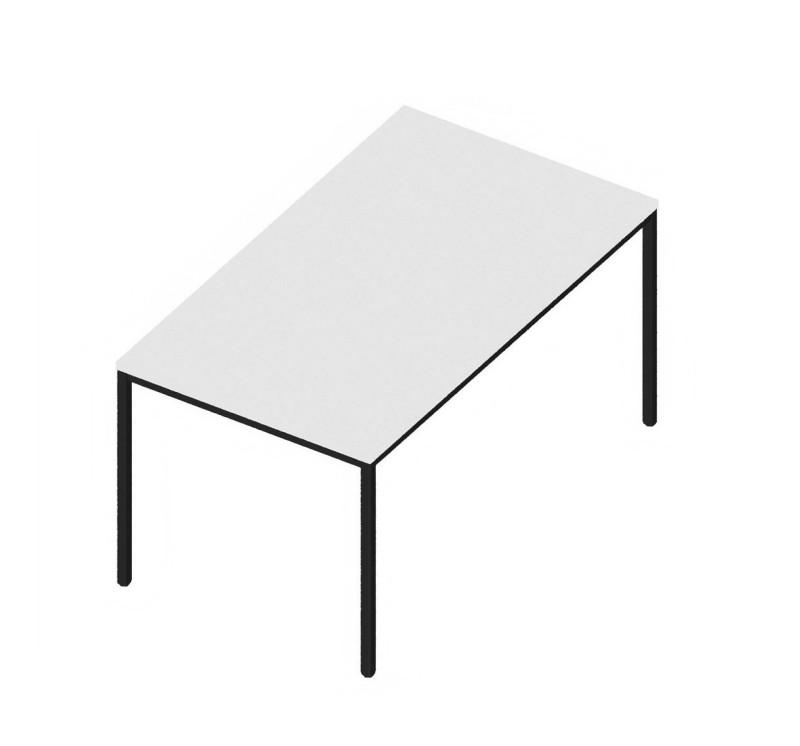 Tisch INTROTEC 4-Fuss weiss B: 1400 (20 Arbeitstage*)