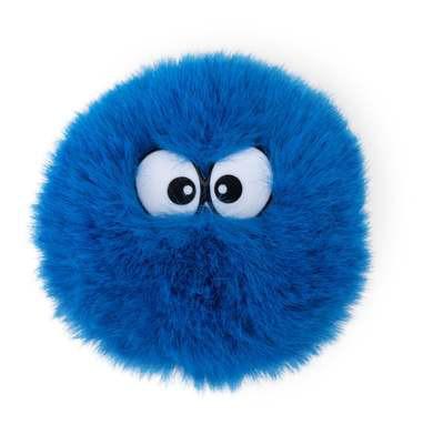 Flausch-Klettie blau