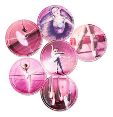 Klettie-Set Ballerina 6-tlg
